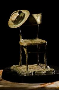 fabian perez chair and hat