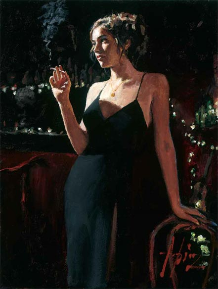 fabian perez tiffany at las brujas