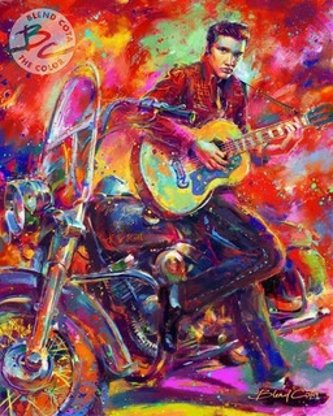 The King of Rock 'n' Roll by Glen Cota
