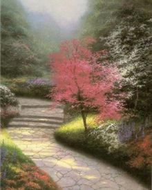 Morning Light, Dogwood by Thomas Kinkade