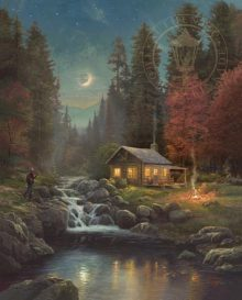 thomas kinkade away form it all