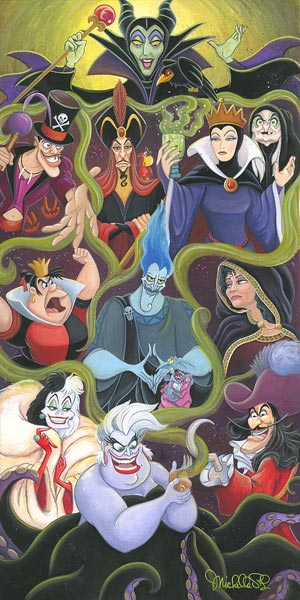 disney collection of villains