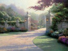 thomas kinkade summer gate