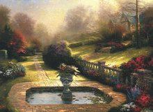 Thomas Kinkade Gardens Beyond Autumn Gate