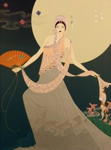 Lillian Shao Dancing Before the Moon
