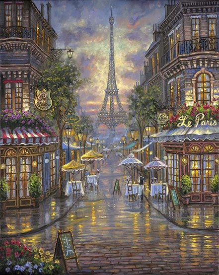 robert finale le paris cafe