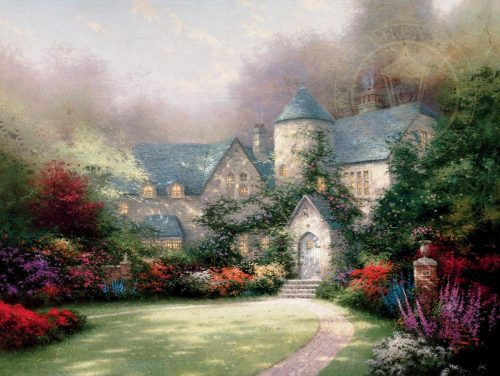 thomas kinkade beyond autumn gate
