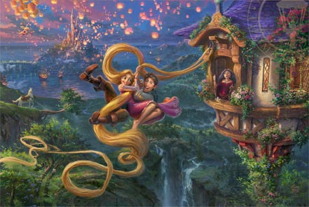 thomas kinkade tangled up in love