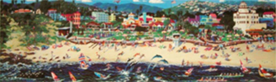 Weekend in Laguna Beach by Alexander Chen