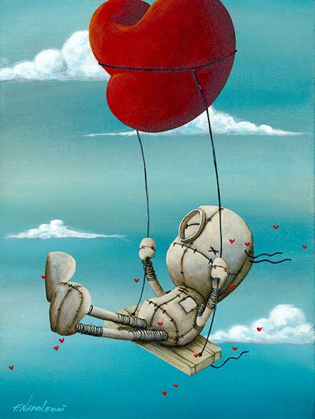 fabio napoleoni high above it all