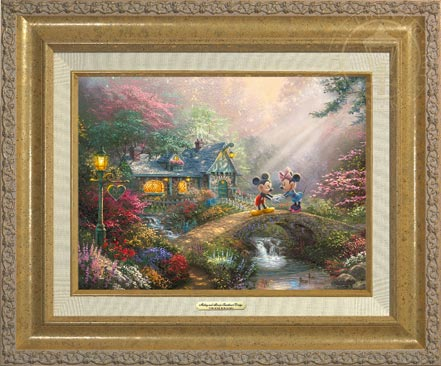 Mickey and Minnie – Sweetheart Bridge – Canvas Classic