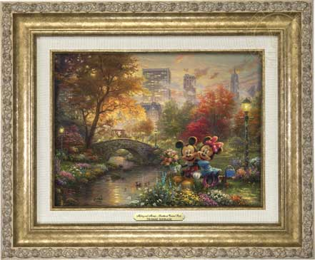 Mickey and Minnie – Sweetheart in Central Park – Canvas Classics