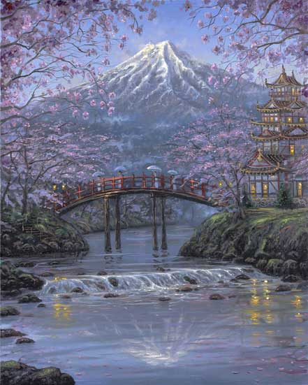robert finale mt fuji blossoms