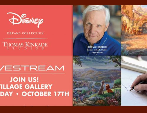 Thomas Kinkade Studios Disney Dreams Livestream with Dirk Wunderlich