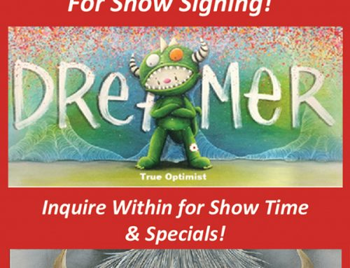 Meet Fabio Napoleoni Saturday February 9th Art Show!