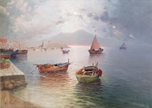 G. Pratillo, Napoli, Vesuvio