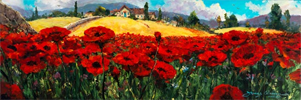 james coleman fields of red and gold