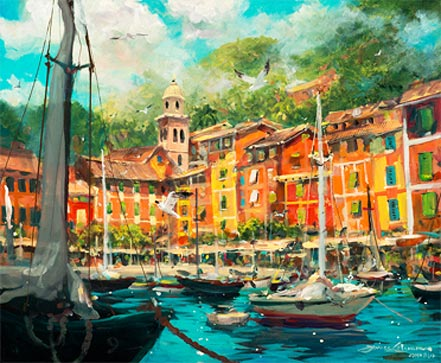 james coleman reflections of portofino