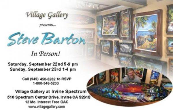 Steve Barton Art Show