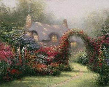 Thomas Kinkade Glory of Morning