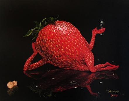 michael godard sexy strawberry
