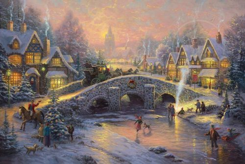 thomas kinkade spirit of christmas