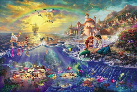 thomas kinkade the little mermaid