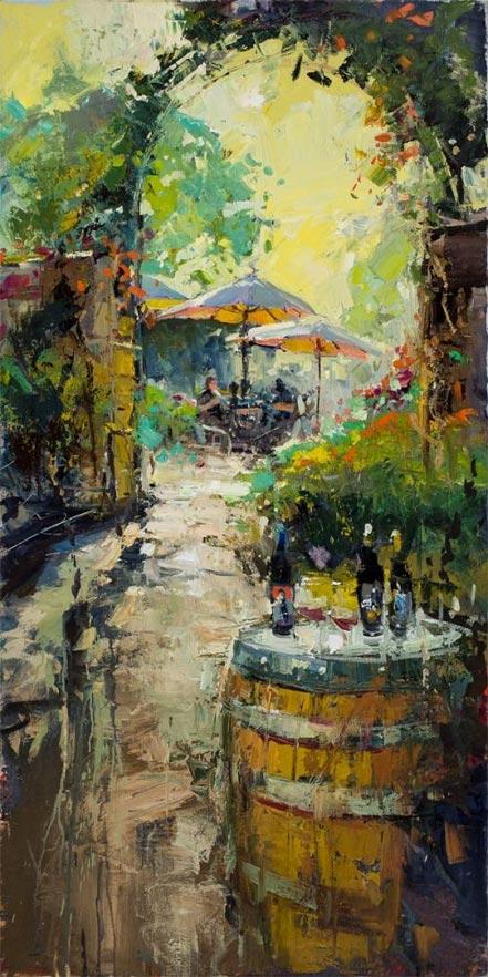 steve quartly umbrellas in the sun