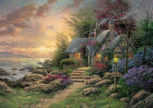 thomas kinkade seaside hideaway