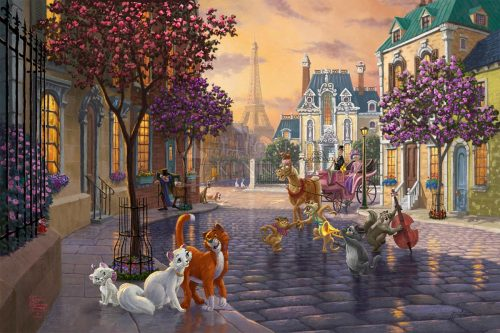 thomas kinkade the aristocats
