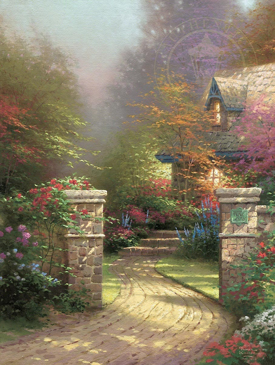 thomas kinkade rose gate