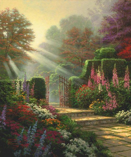 thomas kinkade garden of grace