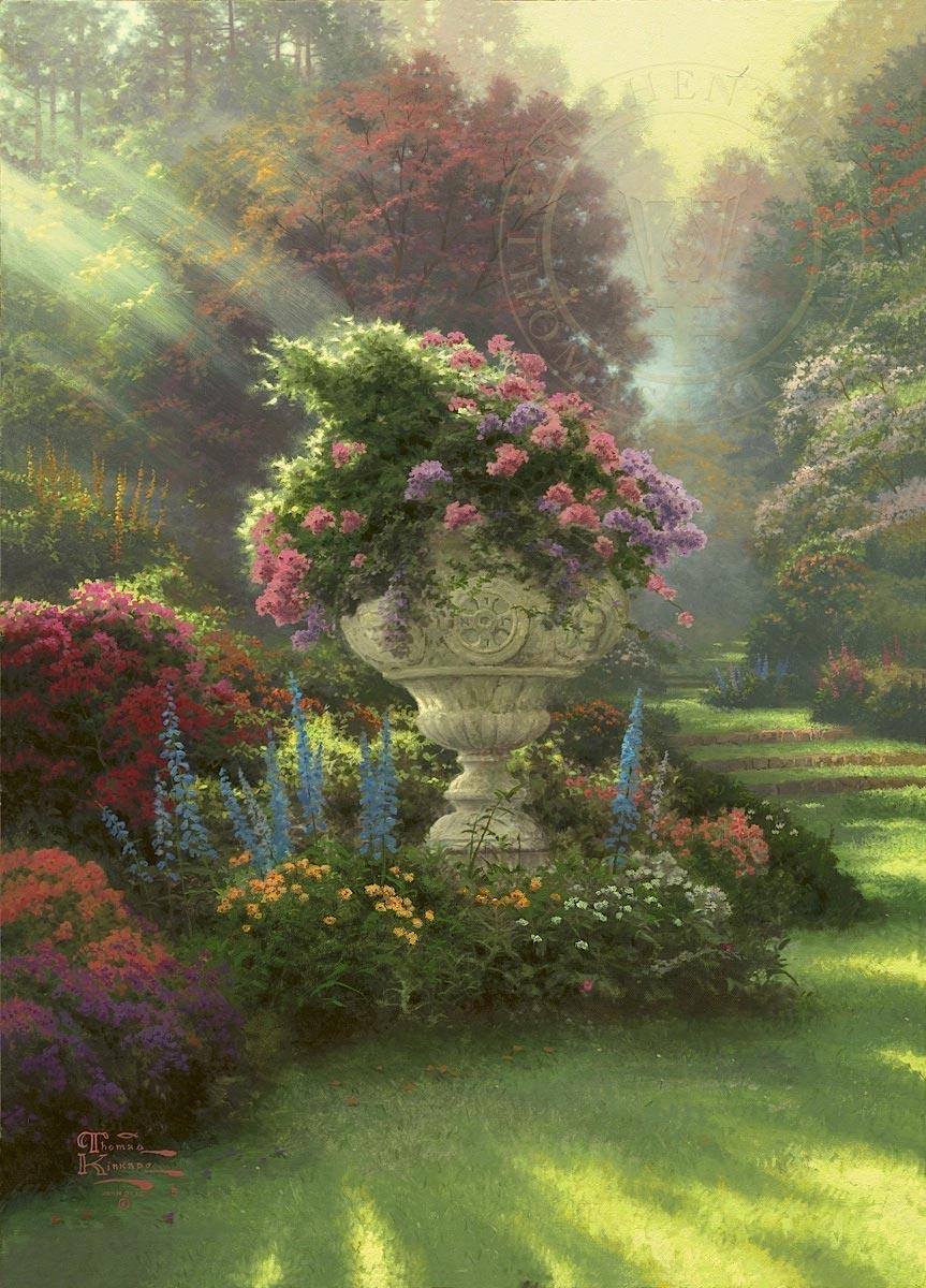 thomas kinkade the garden of hope