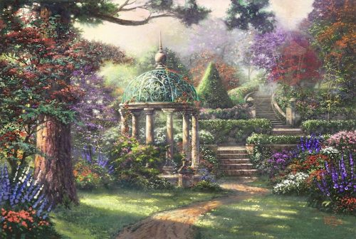 thomas kinkade gazebo of prayer