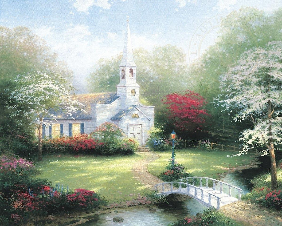 thomas kinkade hometown chapel