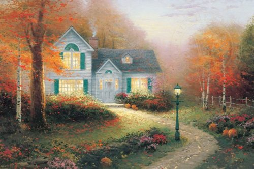 thomas kinkade the blessings of autumn