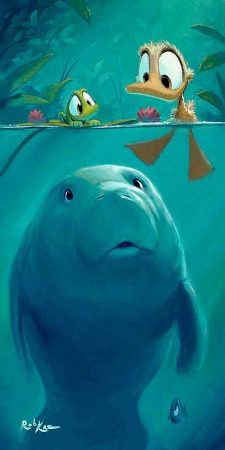 rob kaz curious sea cow