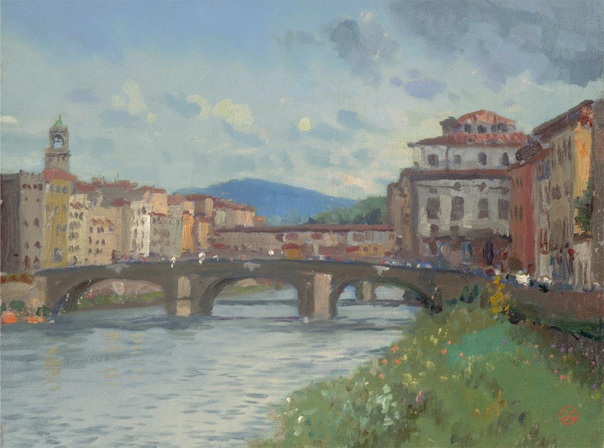 thomas kinkade florence river alma