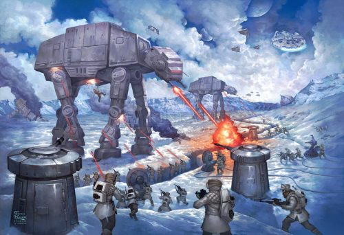 thomas kinkade the battle of hoth