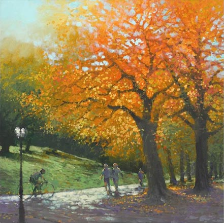 david hinchcliffe autumn in the park