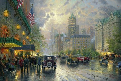 thomas kinkade new york fifthe avenue