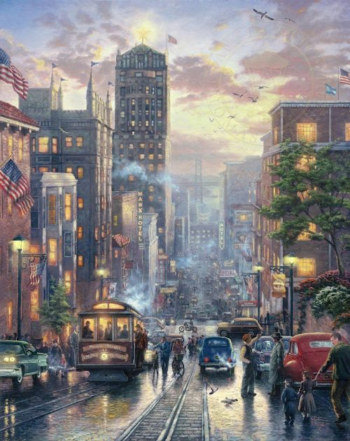 thomas kinkade san francisco powell street