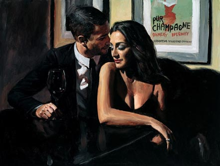 fabian perez the proposal at hotel du-vine