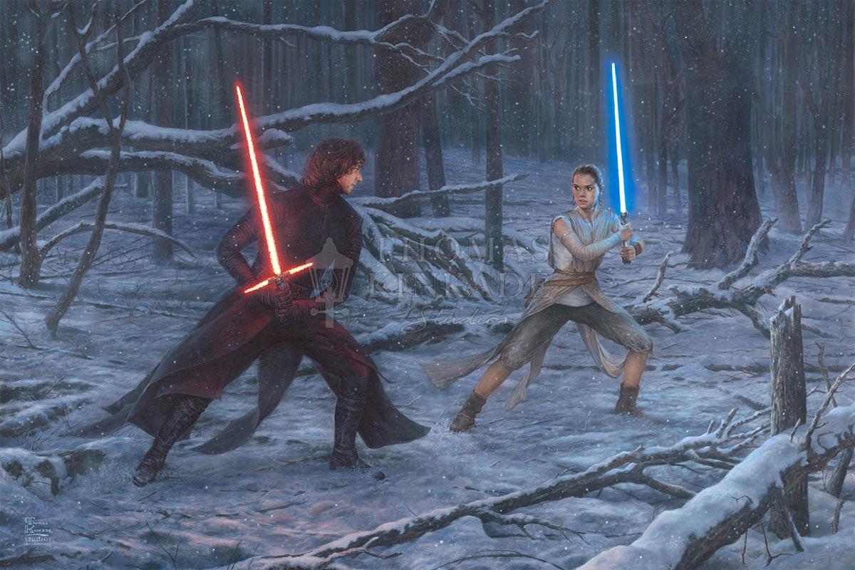 thomas kinkade the duel