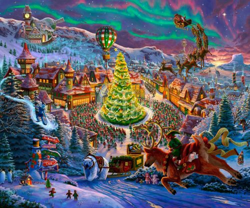 zac kinkade santa's north pole