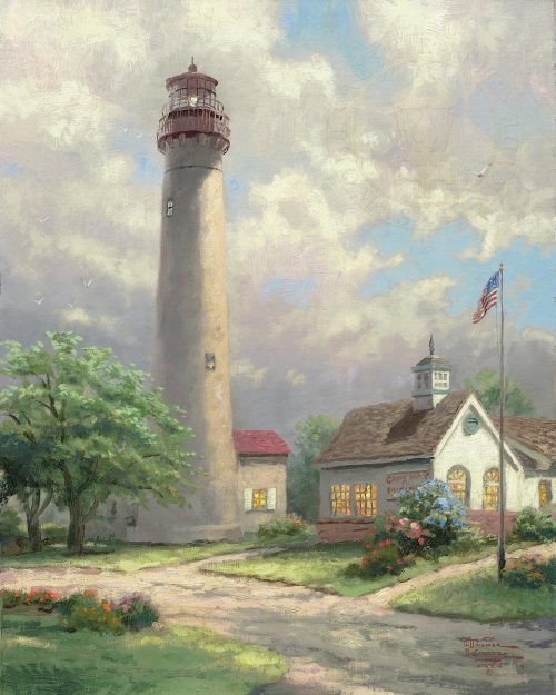 thomas kinkade cape may light