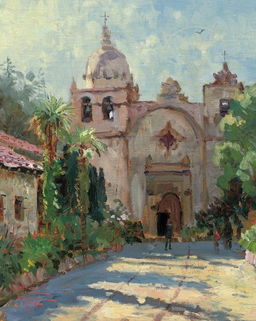 thomas kinkade carmel mission
