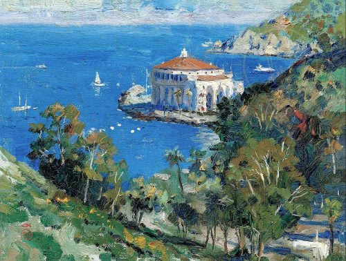 thomas kinkade catalina view from decanso