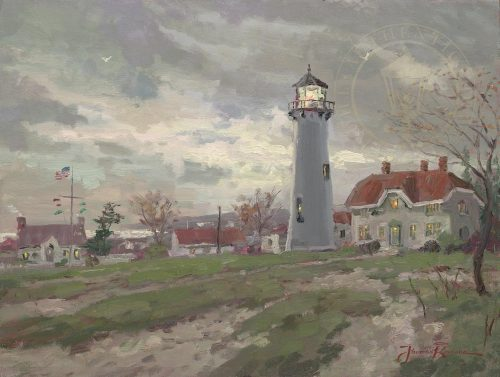 thomas kinkade chatham light
