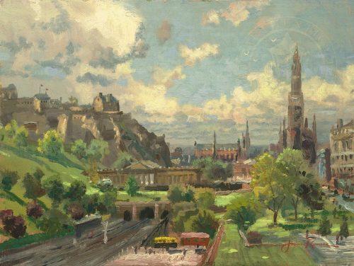 thomas kinkade edinburgh scotland